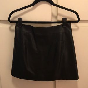 Dresses & Skirts - Nasty Gal Faux leather mini skirt